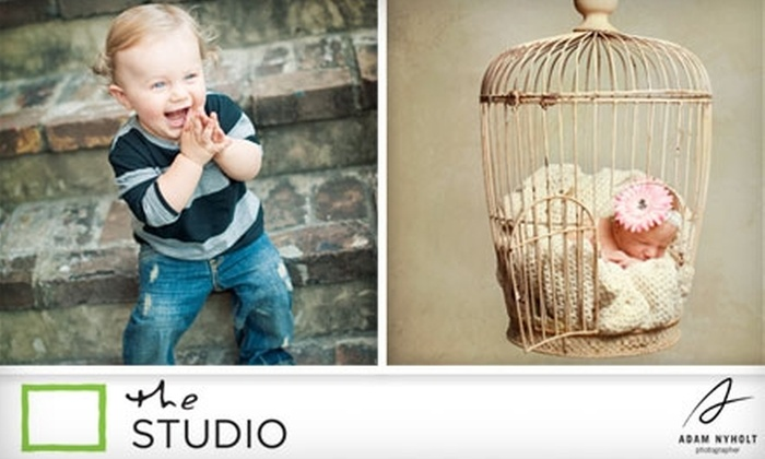 """The Studio by Adam Nyholt - Greater Heights: $50 for an In-Studio Photography Session, 8""""x10"""" Photo, and Contact Sheet of Up to 40 Proofs from The Studio by Adam Nyholt ($250 Value)"""