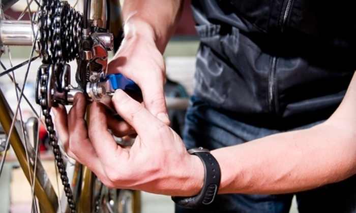 Apex Cycles & Services - Downtown Core: $40 for Complete Bike Tune-Up at Apex Cycles & Services in Davis (Up to $85 Value)