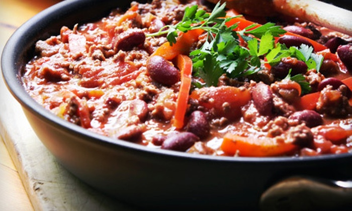 NYC Chili Cookoff and BBQ Competition at Historic Richmond Town - New York City: NYC Chili Cookoff and BBQ Competition at Historic Richmond Town for Two, Four, or Six (Up to 68% Off)