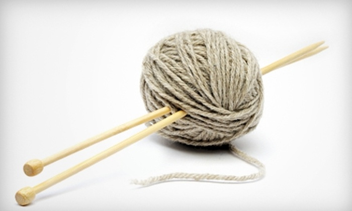 Yarndogs - Los Gatos: $25 for a Learn-to-Knit Class at Yarndogs in Los Gatos ($50 Value)