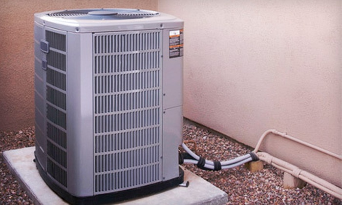 Innovative Heating & Cooling - Airport Business Area: Air-Conditioner Cooling Inspection with Optional Heating Safety Inspection from Innovative Heating & Cooling (51% Off)