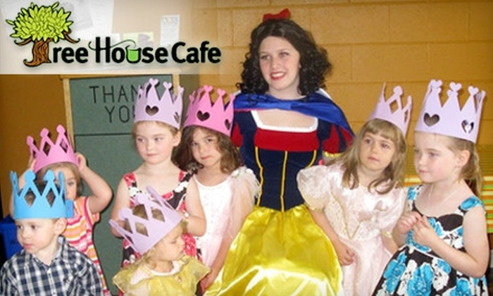 Tree House Café - Halifax: $6 for a Kid's Visit and Lunch (Up to $13.50 Value) or $25 for a 10-Visit Punch Card ($50 Value) at the Tree House Café