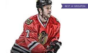 Sideline Marketing: Meet & Greet w/Autograph or Photo-Op with Blackhawks Brent Seabrook from Sideline Marketing (Up to 54% Off)