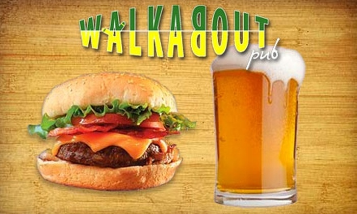 Walkabout Pub - Strathcona: $15 for $30 Worth of Australian Fare and Drinks at Walkabout Pub