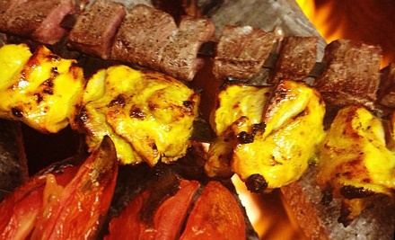 Persian Food at Real Kabob (Half Off). Two Options Available.