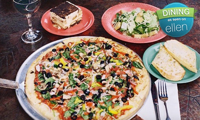Palio's Pizza Cafe - Plano: Pizza Meal with Salads and Sodas for Four or $10 for $20 Worth of Pizza and Pasta at Palio's Pizza Cafe