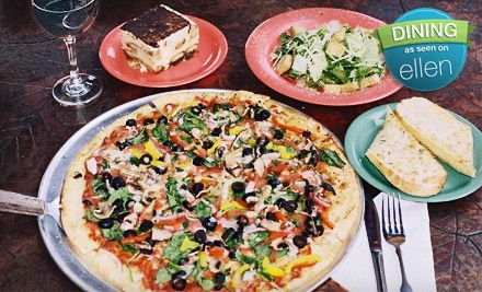 $20 Groupon - Palio's Pizza Cafe in Plano
