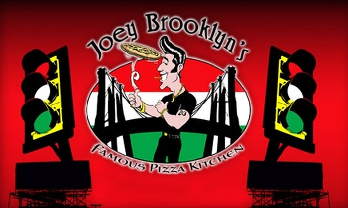 Joey Brooklyn's Famous Pizza Kitchen - Downtown St. Petersburg: $10 for $20 Worth of Pizzeria Cuisine at Joey Brooklyn's Famous Pizza Kitchen