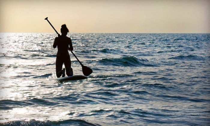 Captain Kirk's - Central San Pedro: $35 for Beginner Stand-Up Paddleboard Lesson at Captain Kirk's in San Pedro ($69 Value)