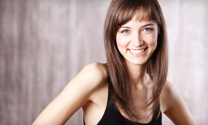 Hairmasters Salon and Spa - Richmond: Haircut and Keratin Treatment or Haircut, Keratin Treatment, and Color at Hairmasters Salon and Spa in Richmond