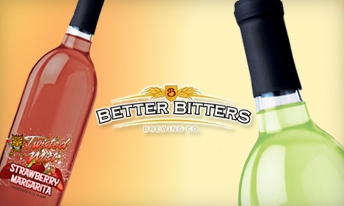 Better Bitters - Burlington: $59 for a Strawberry Margarita or Mojito Wine Cocktail Making Experience and 30 Bottles Worth of Drinks at Better Bitters ($136 Value)