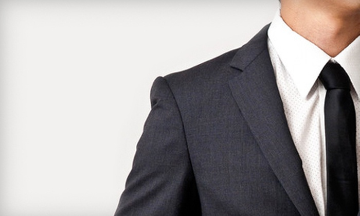 AlbertMing: Off-the-Rack or Custom-Fit Suit from AlbertMing (Up to 55% Off)