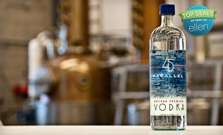 Distillery Tour, Tasting for Two, and $20 Toward Spirits or Merchandise - 45th Parallel Spirits in New Richmond