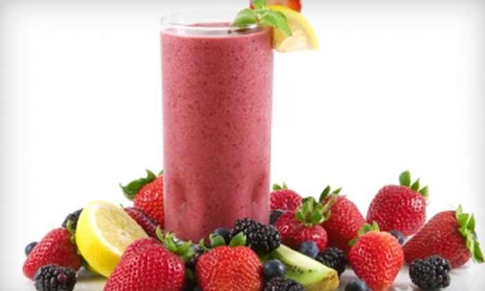 All Stirred Up!  - Portage: $4 for Two Regular Smoothies at All Stirred Up! ($7.98 Value)