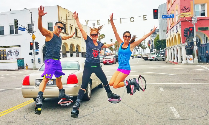 220 Fitness - Ocean Park: $79 for a One-Hour Venice or Santa Monica Kangoo Tour for Two from 220 Fitness ($110 Value)