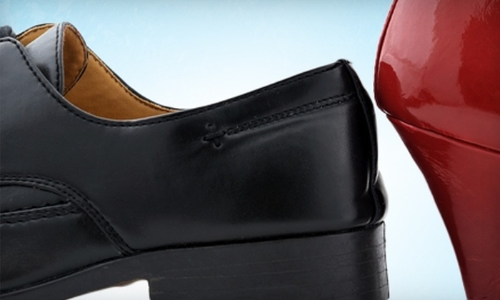 Naperville Shoe, Luggage, Tailoring & Repairs - Naperville: $14 for $28 Worth of Shoe Repair at Naperville Shoes, Luggage, Tailoring & Repairs