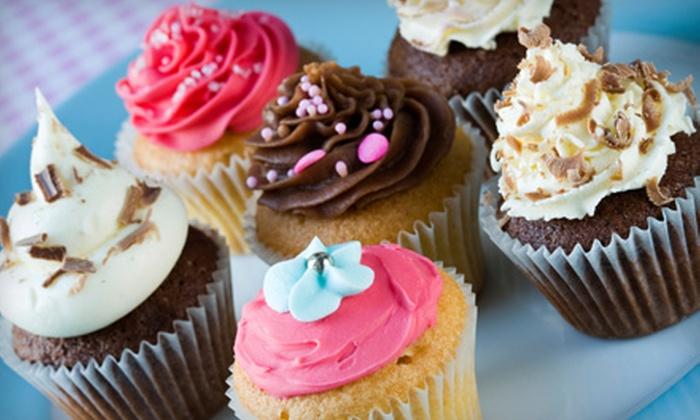 Taste & See Cakery - Hampton Roads: Six or 12 Gourmet Cupcakes, or Credit Toward a Custom Cake at Taste & See Cakery in Newport News