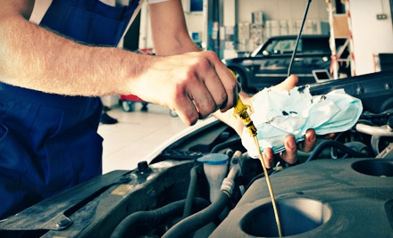 1 Oil Change with Up to Five Quarts of Conventional Oil, and One Tire Rotation (a $40 value) - Diffee Motor Company in Oklahoma City