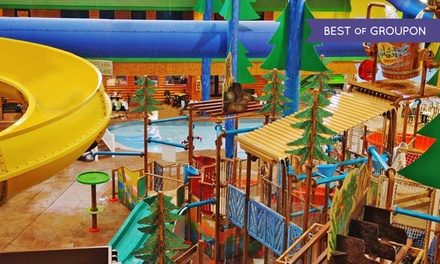 Two, Four, or Six General-Admission Passes to Splash Universe Indoor Water Park (Up to 61% Off)