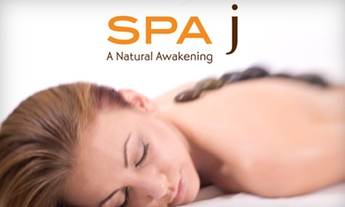 SPA j - Northvale: $39 for Your Choice of 55-Minute Massage at Spa J in Northvale