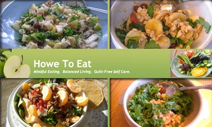 Howe To Eat - Old Town: $25 for a Health Consultation from Howe to Eat