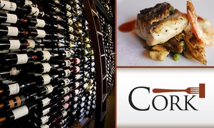 Cork - Chandler: $30 for $60 Worth of Fine Dining and Drinks at Cork