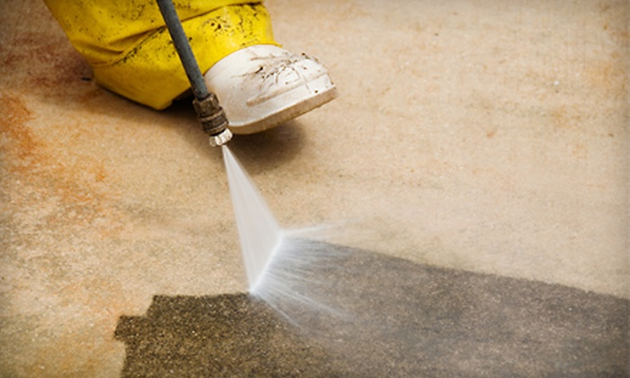 Capp's Pressure Washing - SoMa: $50 for One Hour of Pressure Washing from Capp's Pressure Washing ($125 Value)