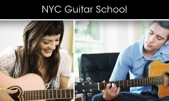 NYC Guitar School - Chelsea: Take a 10-Week Guitar Course with Guitar Rental Included at NYC Guitar School