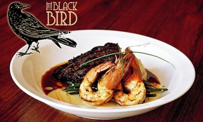 The Blackbird - Black Mountain: $15 for $30 Worth of Contemporary Southern Cuisine at The Blackbird in Black Mountain