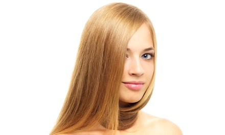Keratin Complex Treatment or Japanese Straightening Treatment at Mijo Hair Salon (Up to 67% Off)
