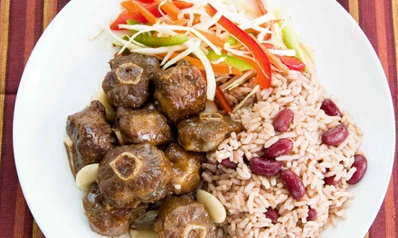 Jamaican Cuisine for Two or Four at Taste It Again (Up to 58% Off)