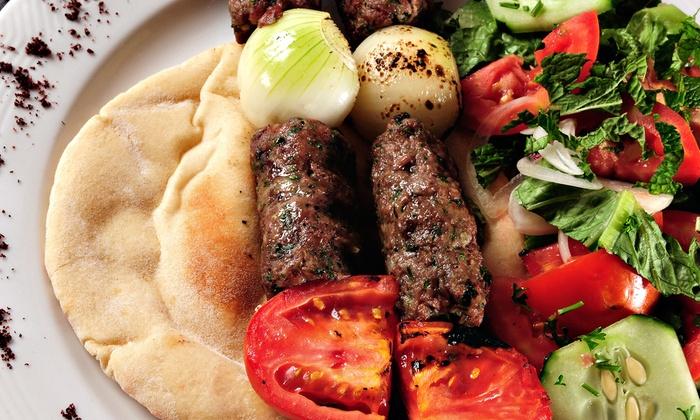 Sahara Palace Restaurant - Northeast: Mediterranean Cuisine or Veggie Special at Sahara Palace Restaurant (Half Off). Three Options Available.