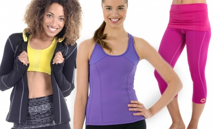 groupon daily deal - Weight-Loss Activewear from Zaggora (Half Off). Two Options Available.
