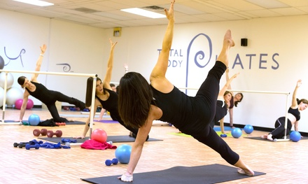 Barre and Pilates Class Packages at Total Body Pilates (Up to 68% Off). Two Options Available.