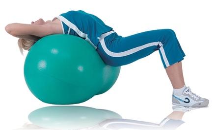 Sivan Health and Fitness Green Peanut Yoga Ball
