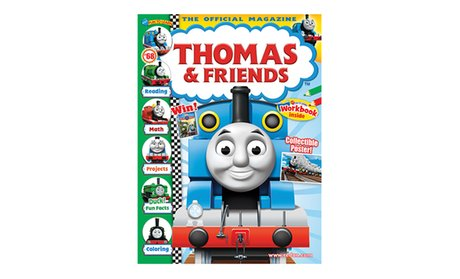1-Year, 6-Issue Subscription to Thomas & Friends Magazine