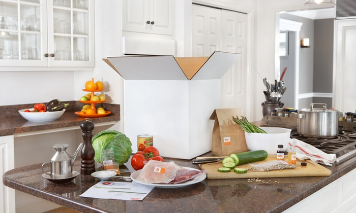 Just Add Cooking - Boston: Delivery of Three Meal Kits, Feeding Two or Four People from Just Add Cooking (Up to 41% Off)