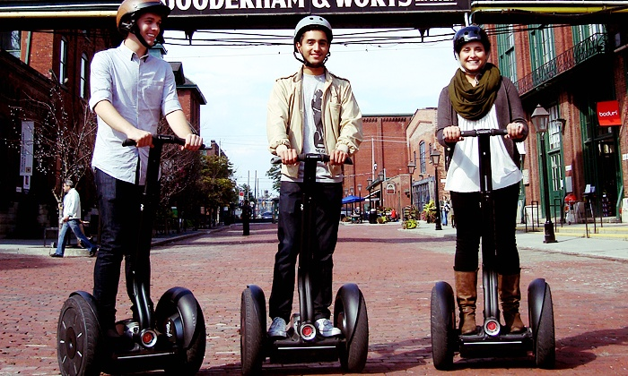 Segway of Ontario - Distillery District: C$59 for One 30-Minute Segway Tour for Two fromSegway of Ontario(C$88.14 Value)
