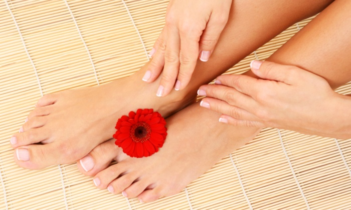 Sea Spa - Memorial Hospital Neighborhood: One or Two Ultimate Deluxe Sea Spa Manicures and Pedicures at Sea Spa (Up to 53% Off)