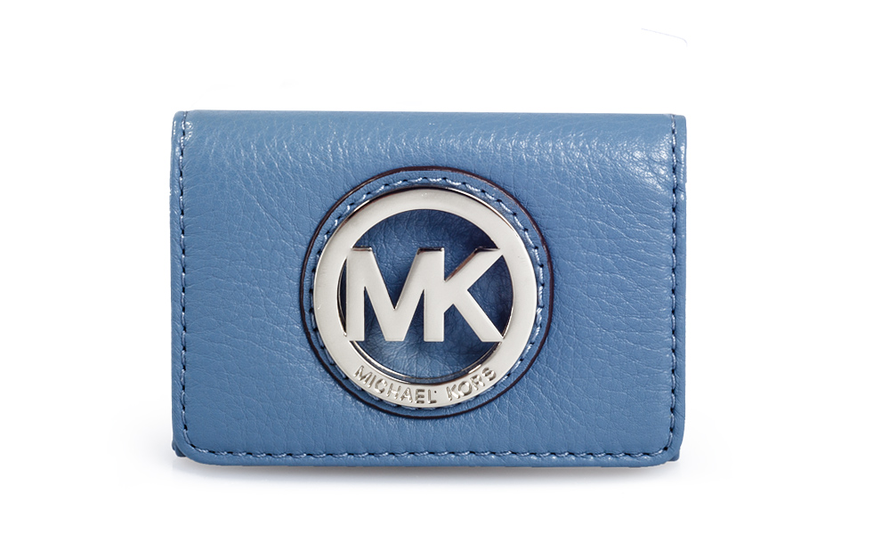 7dd0f2e03b2a Option 1 - Michael Kors Card Case in Blue (35F0SFTD1L) Michael Kors Jet Set  ...
