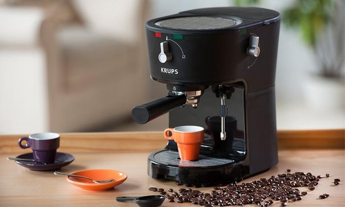 Krups Opio Pump Espresso Machine: $79.99 for a Krups Opio Pump Espresso Machine ($189.99 List Price)