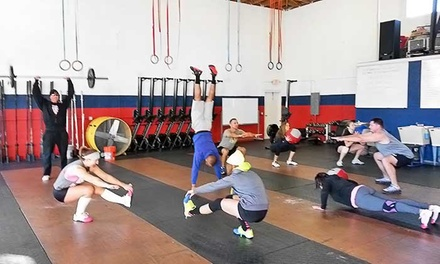 One or Three Months of Unlimited CrossFit or Bootcamp Classes at CrossFit Triple D (75% Off)