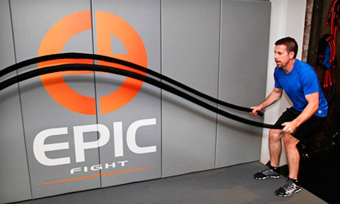 Epic Hybrid Training - Multiple Locations: 5 or 10 Epic Hybrid Training Sessions at Epic Hybrid Training (75% Off)