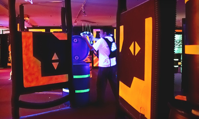 A New World Laser Tag - Middletown: $12 for Two Games of Laser Tag and One Hour of Gaming at A New World Laser Tag in Middletown (Up to $24.50 Value)