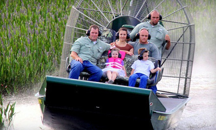 Wild Florida - Saint Cloud: $22 for One-Hour Central Florida Everglades Airboat Tour from Wild Florida in Kenansville ($45 Value)