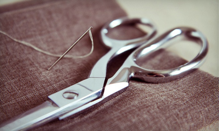 Nile Bridal & Alterations - St. James-Assiniboia: Hemming for Five Pairs of Pants or Shorts or $20 for $40 Worth of Alterations at Nile Bridal & Alterations