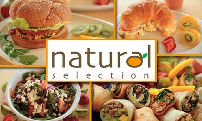 Natural Selection - Arcadia: $7 for $15 Worth of Healthy Foodstuffs at Natural Selection