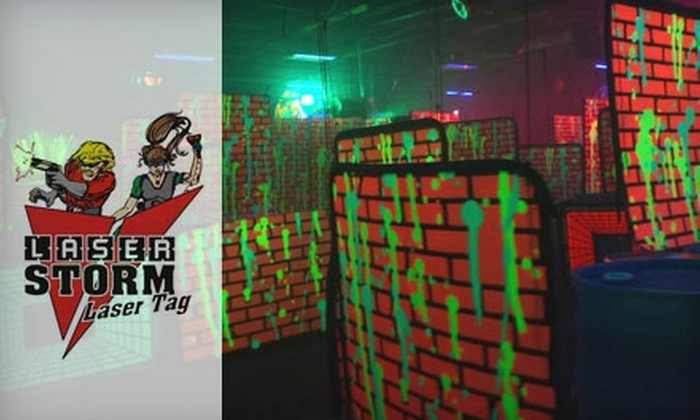 Laser Storm - Ross: $18 for Six Games of Laser Tag at Laser Storm ($36 value)
