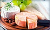 Sand Castle Winery - Tinicum: $29 for Food and Wine Pairing Class for Two with Cellar Tour at Sand Castle Winery in Erwinna ($80 Value)