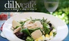 Dilly Café - Mariemont: $15 for $30 Worth of New American Fare and Drinks at Dilly Café